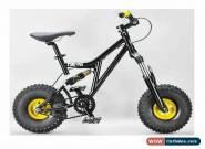 MAFIABIKES Mini Rig FULL SUSPENSION MINI BIKE - Black Frame - Gold Wheels for Sale