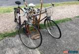 Classic Raleigh Bikes X 2 Vintage Mens And Womens Bikes for Sale