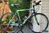 Classic Bianchi Nirone ALU CARBON M 54 CM Handmade In Italy Road Bicycle Flat Bar for Sale