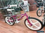GT Performer 1989 Old School BMX Bike Raspberry Used Frame/fork All New Parts for Sale