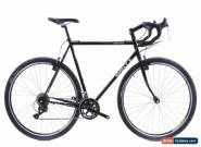 USED Surly Cross Check 58cm Steel Cyclocross CX Gravel Bike Shimano 2x10 Black for Sale