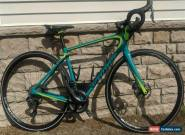 USED 17 Specialized Ruby Expert Ultegra Di2 - Turquoise/Hyper Green/Black - 54 for Sale
