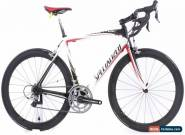 USED 2010 Specialized Tarmac Pro SL L 56cm Carbon Fiber Road Bike Ultegra 2x10 for Sale