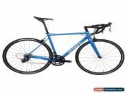 60cm Full Carbon Road Bicycle 11s frame Wheels Fork V brake Blue Bike 700C light for Sale