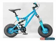 MAFIABIKES Mini Rig FULL SUSPENSION MINI BIKE - Teal Frame - Teal Wheels for Sale