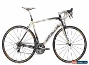 2008 Specialized Tarmac Expert Compact Road Bike 56cm Large Carbon Shimano for Sale
