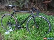 FUJI FEATHER / BMC Single speed or Fixie, Size M,Black stealth Edition, Exc Cond for Sale