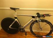 54cm Cannondale Slice Hi-Mod RS w/ Disc and Stages DAPower Meter (unbuilt) for Sale
