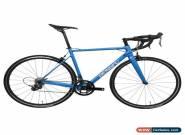 58cm Full Bike Carbon Road bicycle Wheels 11s Frame Fork V brake Blue 700C light for Sale
