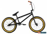 "Elite 20"" BMX Stealth Bicycle Freestyle Bike Black Gum NEW 2019 for Sale"