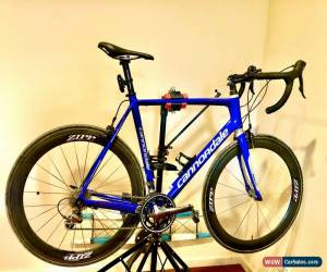 Classic Cannondale Six Carbon, Road bike, ZIPP carbon wheels, Vittoria tub tyres. for Sale