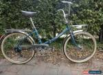 VINTAGE PEUGEOT NS (NOUVEAU STYLE) FOLDING BICYCLE - STORED FOR 50 YEARS for Sale