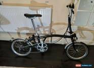 Brompton M6L folding bike  shipping worldwide 2016 for Sale