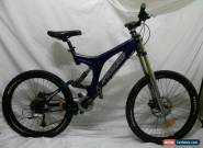 Specialized BigHit FSR Comp Downhill Bike Boxxer Race Fork 9 Speed Shimano XT for Sale