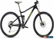 Cube Stereo 120 HPC SLT Mens Mountain Bike 2018 - Black for Sale
