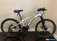 Kids 24 inch white Jamis MOUNTAIN BIKE 21 gears USED includes disc brakes for Sale