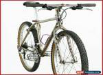 """MARIN TEAM ISSUE mountainbike shimano xtr m900 vintage 90s bicycle mtb steel 17"""" for Sale"""