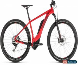 Classic Cube Reaction Hybrid Race 500 Mens Electric MTB 2019 - Grey for Sale