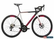 2017 Cannondale SuperSix Evo Hi-Mod Disc Ultegra Di2 Womens Road Bike 52cm Quarq for Sale
