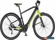 Scott E-Silence Speed 20 Mens Electric Hybrid Bike 2017 - Black for Sale