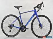 2019 Giant Defy Advanced 2 Shimano 105 Disc Carbon Bicycle Medium Electric Blue for Sale