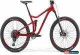 Classic Merida One-Forty 600 Full Suspension MTB 2019 - Red for Sale