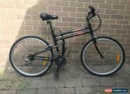 Montague folding bike, black/red for Sale
