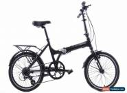 "USED 2019 Giant Expressway 1 Aluminum Folding Bike 20"" Wheels Rack Fenders for Sale"