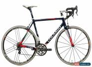 2013 Colnago C59 Road Bike 54s Carbon Campagnolo Record 2x11 Eurus for Sale