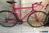 Classic breast cancer awareness tribute bike Look 486 with dura ace custom paint for Sale