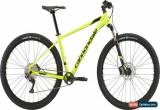 Classic Cannondale Trail 4 1X 29 Mens Mountain Bike 2018 - Yellow for Sale