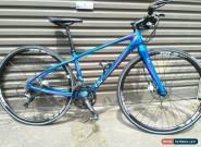 Liv (Giant) Thrive Comax 2 disc 2016 XS Carbon flat bar road bike blue. for Sale