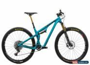 "2019 Yeti SB100 Turq Mountain Bike Medium 29"" Carbon SRAM X01 Eagle Fox Kashima for Sale"