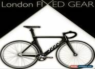 "London FIXED GEAR ""T.O.R."" Bike Full-Carbon Track Pista Velodrome (~7kg) for Sale"