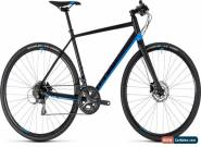Cube SL Road Mens Flat Bar Road Bike 2018 - Black for Sale