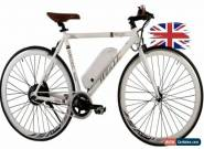 ELECTRIC ROAD BIKE With AERO BAR 36v10Ah NEW DESIGN 3 SPEED RIDE ALLOY UK FT161 for Sale