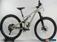 USED 19 Specialized Stumpjumper Comp Carbon 29, Gloss/White Mtn/Nice Blue, SMALL for Sale