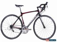 USED 2010 Trek Madone 4.5 Double 54cm Shimano 105 Carbon Road Bike Black Red for Sale