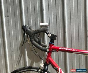 Classic Fuji newest 3.0 road bike - red and silver for Sale