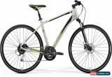 Classic Merida Crossway 100 Mens Hybrid Bike 2019 - Silver for Sale
