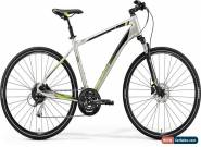 Merida Crossway 100 Mens Hybrid Bike 2019 - Silver for Sale