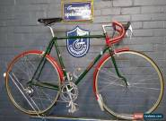 NEW Vintage Bates Volante Bicycle 56cm Fitted with NEW Campagnolo Chorus, Brooks for Sale