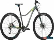 Cannondale Trail 3 27.5 Womens Hardtail Mountain Bike 2018 - Grey XS for Sale