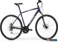Merida Crossway 20-MD Mens Hybrid Bike 2017 - Blue for Sale