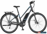 Scott E-Sub Tour Womens Electric Hybrid Bike 2017 - Grey Small for Sale