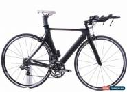 USED 2013 Cannondale Slice 51cm Carbon Fiber TT Tri Bike Shimano Di2 for Sale