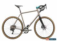 Lynskey Backroad Touring Road Bike X-Large Titanium Shimano XT Di2 M8050 11s for Sale