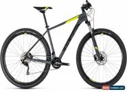 Cube Attention SL Mens Hardtail Mountain Bike 2018 - Grey for Sale
