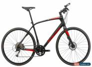 2017 Specialized Sirrus Sport Carbon Hybrid Bike Large microShift 2x9 Disc for Sale