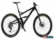 Orange Four S Full Suspension MTB Mens Mountain Bike 2019 Jet Black Large for Sale